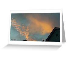 July 2012 Sunset 22 Greeting Card