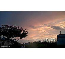 July 2012 Sunset 24 Photographic Print