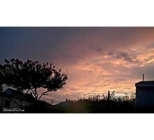 July 2012 Sunset 25 Photographic Print