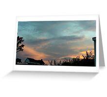 July 2012 Sunset 27 Greeting Card