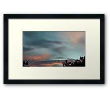 July 2012 Sunset 28 Framed Print