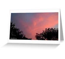 July 2012 Sunset 31 Greeting Card