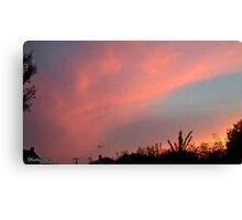 July 2012 Sunset 33 Canvas Print