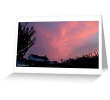 July 2012 Sunset 34 Greeting Card
