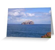 Bass Rock Greeting Card