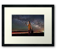 Cosmic Hitchhiker Framed Print