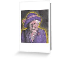 HRH The Queen Mother Greeting Card