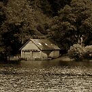 Boathouse by pantherart