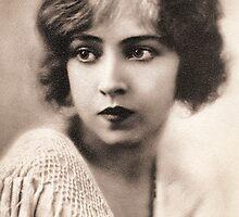 Ziegfeld Girls ... Doris Eaton Travis 1922 by © Kira Bodensted
