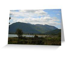 Loch Linhie Greeting Card