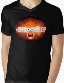 The Big Meep Mens V-Neck T-Shirt