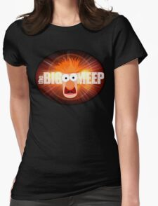 The Big Meep Womens Fitted T-Shirt