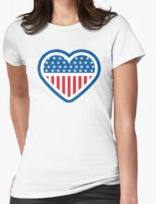 American Patriot Heart T-Shirt