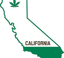 California The Green State by crunchyparadise