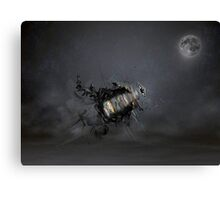 Overload the moon Canvas Print