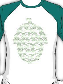 Hop Varieties of The World T-Shirt