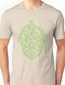 Hop Varieties of The World Unisex T-Shirt