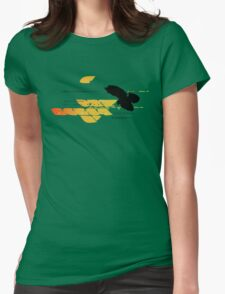 Bird Hover Womens Fitted T-Shirt
