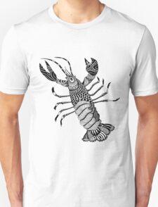 Crayfish Zentangle T-Shirt