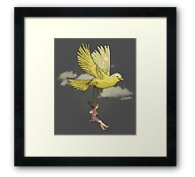 Higher, up to the sky!! Framed Print