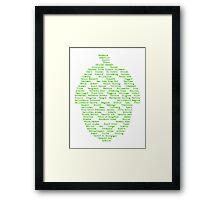 Hop Varieties of The World Framed Print