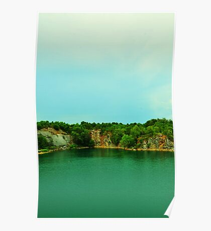 Fishersville Quarry Poster