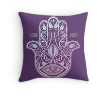 HAMSA PALM Throw Pillow