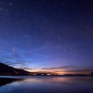 ISS over Klondike Lake by Cat Connor