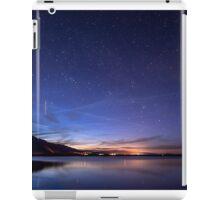ISS over Klondike Lake iPad Case/Skin