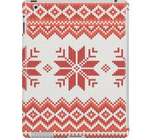 Merry Christmas pattern iPad Case/Skin