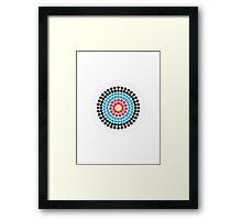 Olympics Bullseye Framed Print