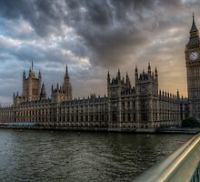 Big Ben HDR  by willoughby