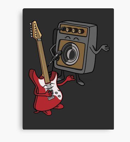 I wanna rock! Canvas Print