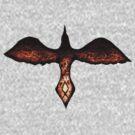 Odin's Raven Huginn by TheCroc1979
