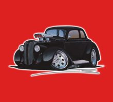 1936 Plymouth Coupe (B) Black Baby Tee