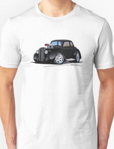 1936 Plymouth Coupe (B) Black T-Shirt
