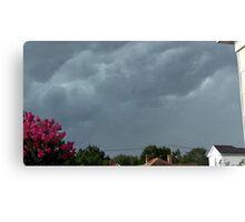 Severe Storm Warning 4 Canvas Print