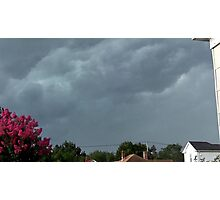 Severe Storm Warning 4 Photographic Print