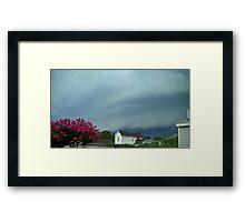 Severe Storm Warning 5 Framed Print