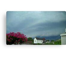 Severe Storm Warning 5 Canvas Print
