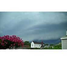Severe Storm Warning 5 Photographic Print