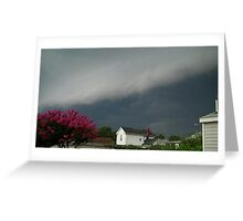 Severe Storm Warning 6 Greeting Card