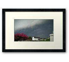 Severe Storm Warning 8 Framed Print