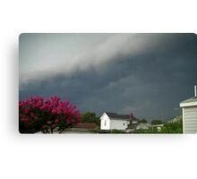 Severe Storm Warning 8 Canvas Print