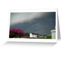 Severe Storm Warning 8 Greeting Card