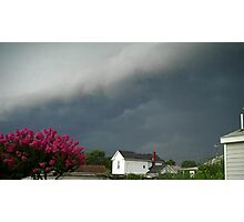 Severe Storm Warning 8 Photographic Print