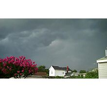 Severe Storm Warning 9 Photographic Print