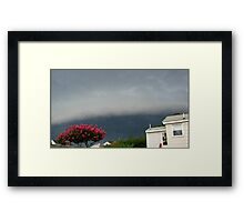 Severe Storm Warning 12 Framed Print