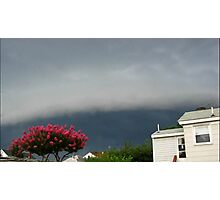 Severe Storm Warning 12 Photographic Print