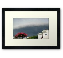 Severe Storm Warning 13 Framed Print
